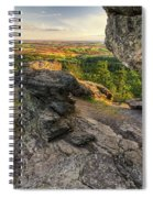 Rocks Of Sharon Overlook Spiral Notebook