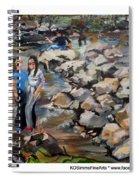 Rocks On The Brandywine Spiral Notebook