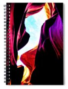 Rocks, Sunlight And Magical Colors Spiral Notebook
