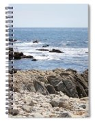Rocky California Coastline Spiral Notebook