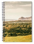 Rocky Capes And Rugged Coasts Spiral Notebook