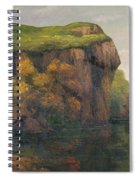 Rocky Cliffs Spiral Notebook