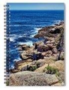 Rocky Coastline 1 Spiral Notebook