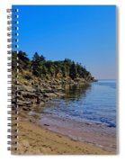 Rocky Coastline Spiral Notebook