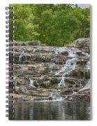 Rocky Falls Ozark National Scenic Riverways Dsc02788 Spiral Notebook