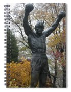 Rocky In The Fall Spiral Notebook