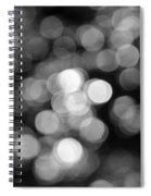 Rocky Mountain Bokeh II Spiral Notebook