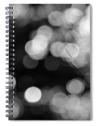 Rocky Mountain Bokeh Spiral Notebook