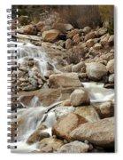 Rocky Mountain Cascade Spiral Notebook