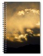 Rocky Mountain Continental Divide Sunset Spiral Notebook