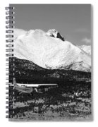 Rocky Mountain Flying  Spiral Notebook