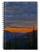 Rocky Mountain High Sunrise Spiral Notebook