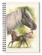 Rocky Mountain Horse Spiral Notebook