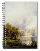 Rocky Mountain Landscape Spiral Notebook