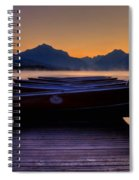 Rocky Mountain Magic - Seveneleven Spiral Notebook