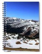 Rocky Mountain National Park Pano 2 Spiral Notebook