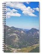 Rocky Mountain National Park Panoramic Spiral Notebook