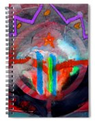 Rocky Mountain Pass Spiral Notebook