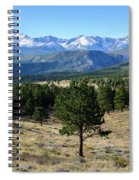 Rocky Mountain View Spiral Notebook