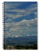 Colorado Rocky Mountain High Spiral Notebook
