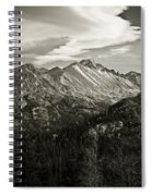 Rocky Mountain Wonders Spiral Notebook