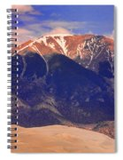 Rocky Mountains And Sand Dunes Spiral Notebook