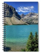 Rocky Mountains Panorama Spiral Notebook