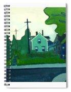 Rocky Neck Art Colony East Gloucester Ma Spiral Notebook