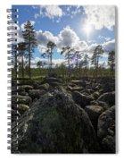 Rocky Offroad. Boulderfield Spiral Notebook