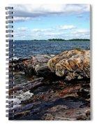 Rocky Point - Wreck Island Spiral Notebook