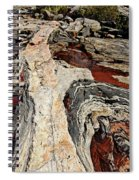 Rocky Pools - Wreck Island Spiral Notebook