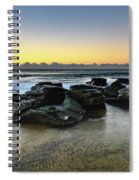 Rocky Seascape Spiral Notebook