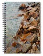 Rocky Shoreline Spiral Notebook