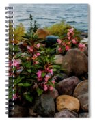Rocky Shores Of Lake St. Clair- Michigan Spiral Notebook