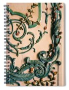 Rococo Spiral Notebook