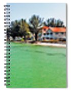 Rod And Reel Pier 360 Degrees Spiral Notebook