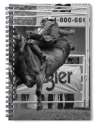 Rodeo Bull Riding 1 Spiral Notebook