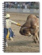 Rodeo Clown Spiral Notebook