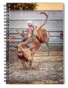Rodeo Cowboy Spiral Notebook