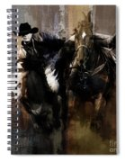 Rodeo Painting Spiral Notebook