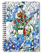 Rodeo Wrangler Mosaic Spiral Notebook