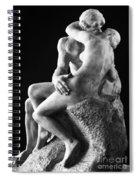 Rodin: The Kiss, 1886 Spiral Notebook