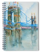 Roebling On The Ohio River Spiral Notebook