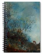 Roedeer In The Morning Spiral Notebook