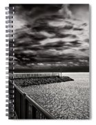 Rogers City Marina Morning Spiral Notebook