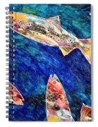 Rogue Wave Spiral Notebook