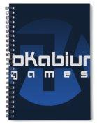 Rokabium Games Logo Spiral Notebook