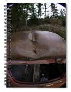 Roll Over Old Truck Spiral Notebook