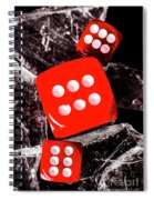 Roll Play Of Still Life Spiral Notebook