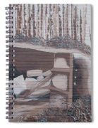 Rolled Military Truck Street Art Spiral Notebook